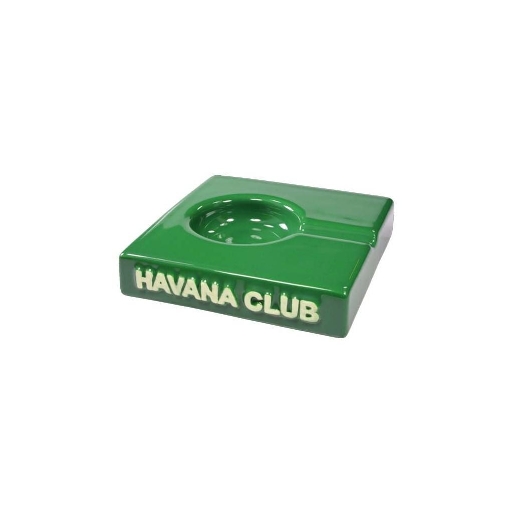 "Cendrier pour cigare Havana Club ""El Solito"" de céramique - Bottle Green"