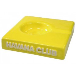 "Havana Club ""El Solito"" ceramic cigar ashtray - Lime Yellow"