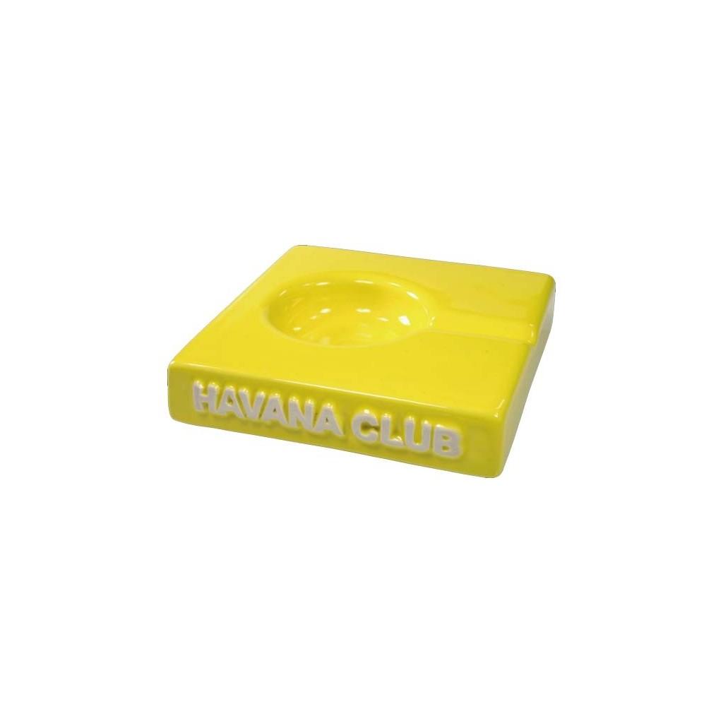 "Cendrier pour cigare Havana Club ""El Solito"" de céramique - Lime Yellow"