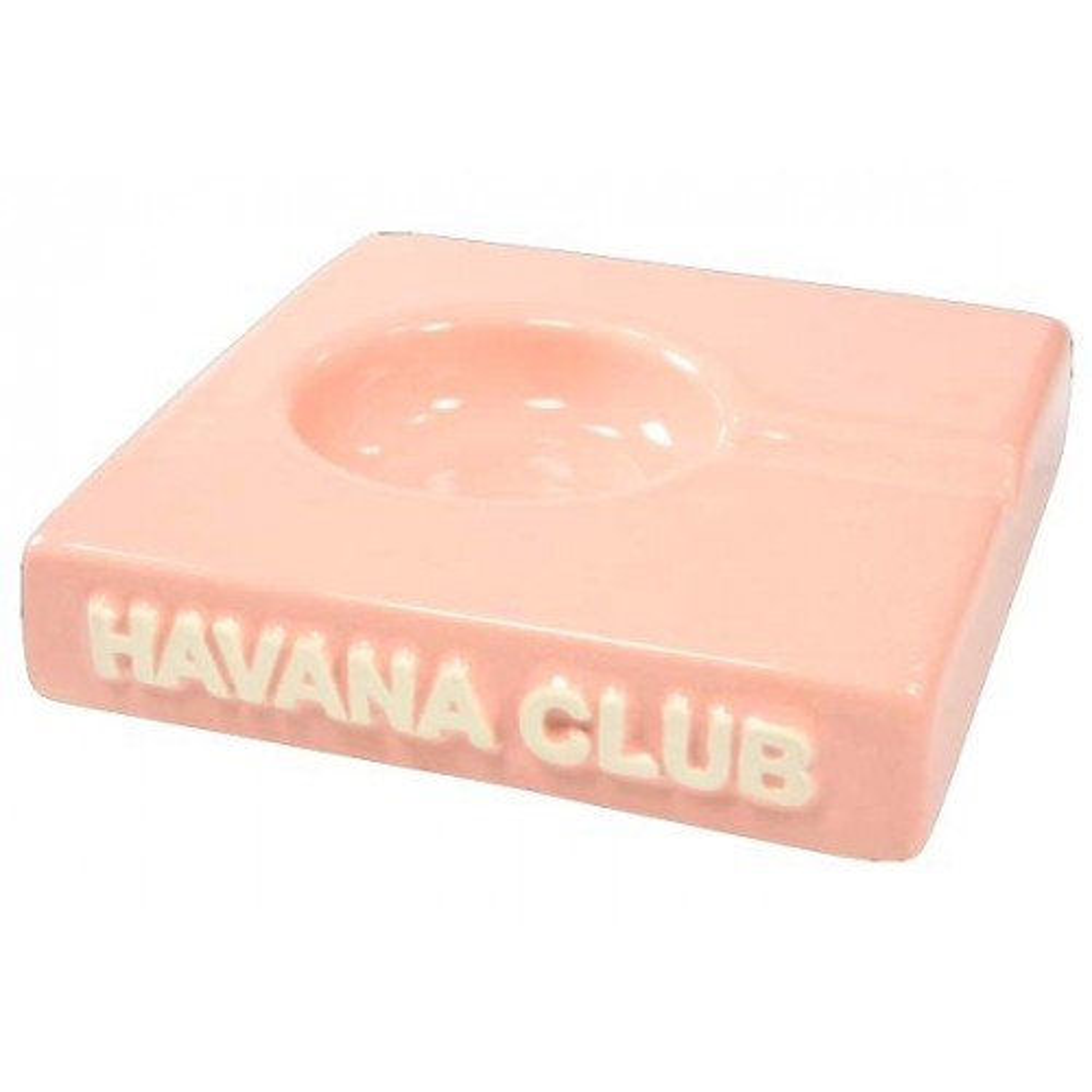 """Ceniceros por cigarro Havana Club """"El Solito"""" en cerámico - Revival Pink"""