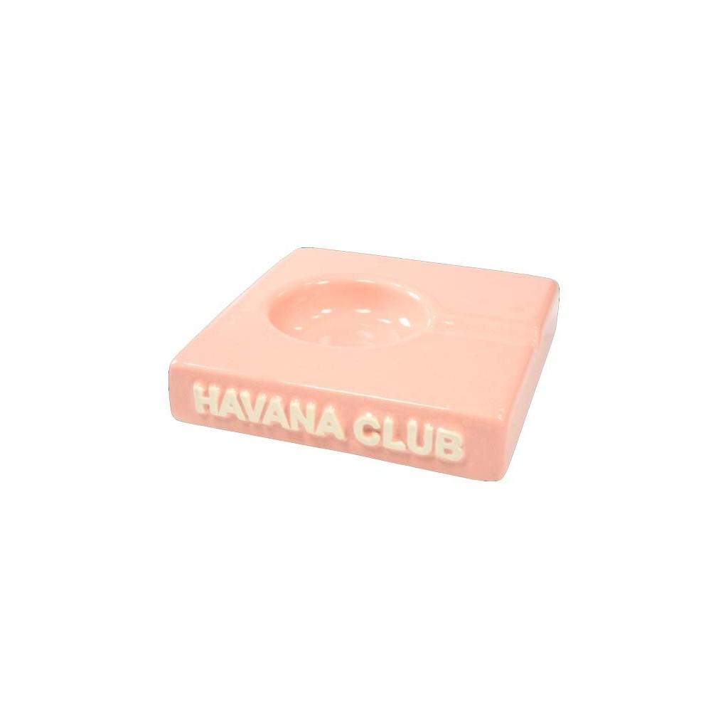 """Posacenere da tavolo Havana Club """"El Solito"""" in ceramica - Rosa"""
