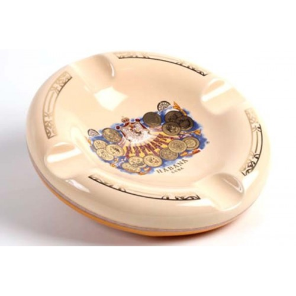 Posacenere da tavolo H.Upmann in ceramica