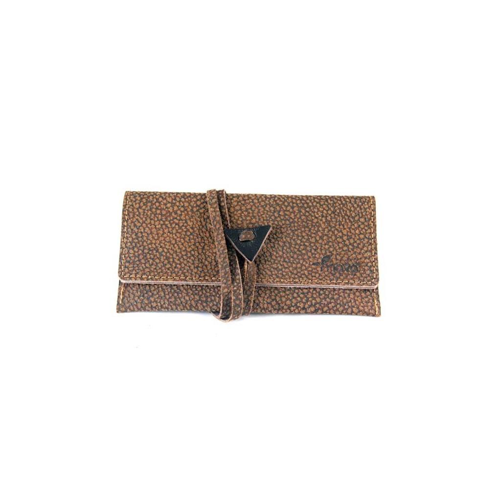 """Leather tobacco pouch Mava - """"Borbonese"""""""