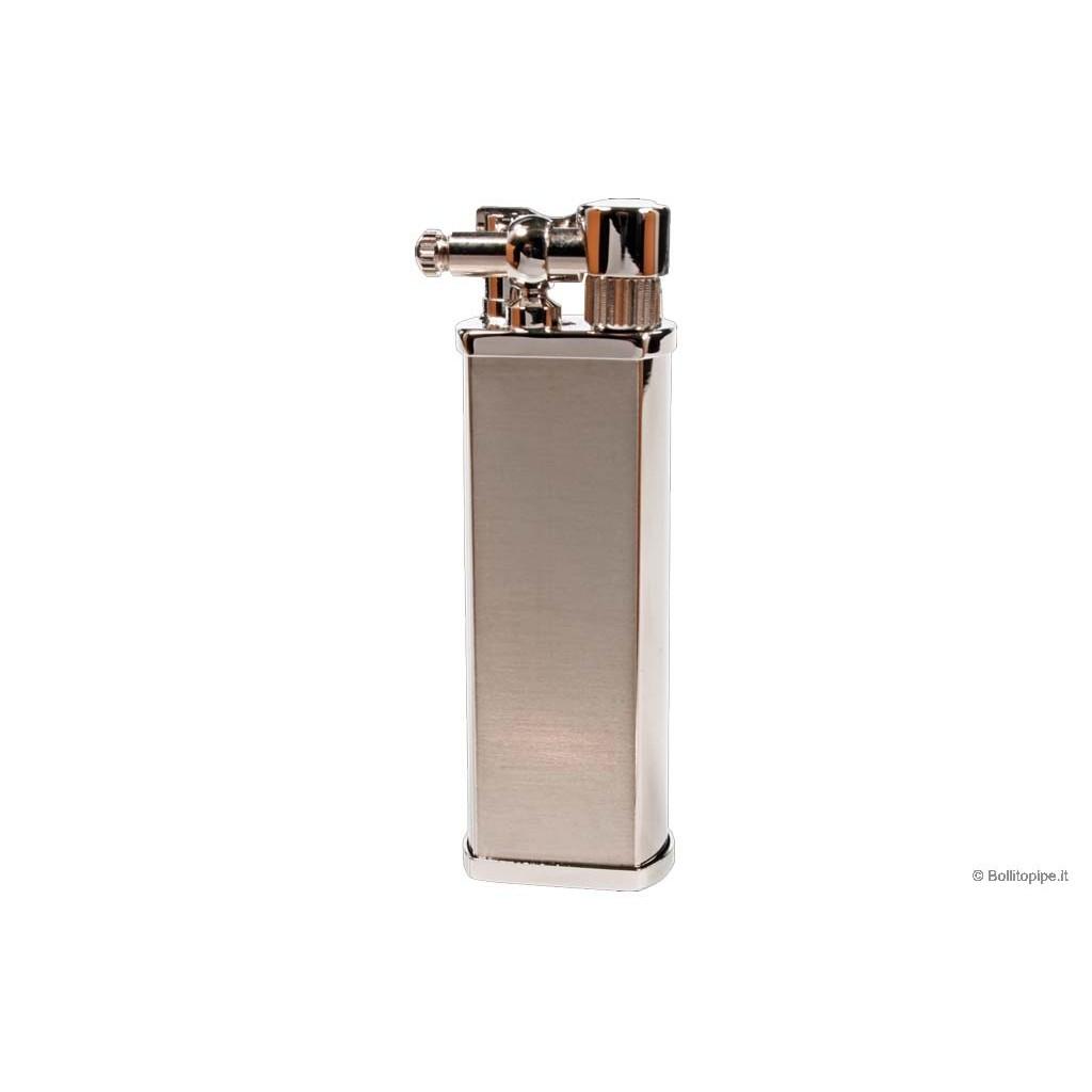 """Tsubota Pearl """"Bolbo"""" pipe lighter - Matt Steel"""