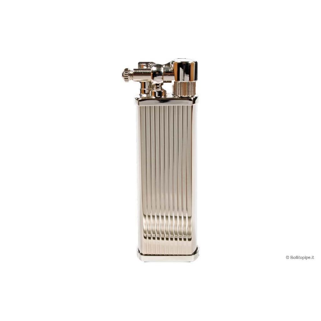 """Tsubota Pearl """"Bolbo"""" pipe lighter - Vertical Lines"""