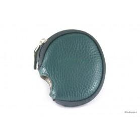 Cobertura en piel verde Savinelli