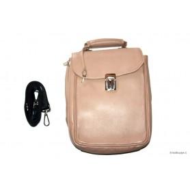 Bolsa Anvolo en piel para 7-14 pipas, tabaco y accessorios - marron claro