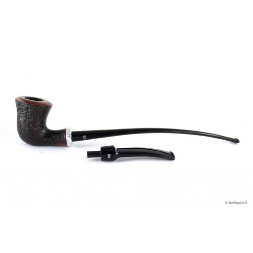 Stanwell H.C.Andersen V sandblast with double mouthpieces