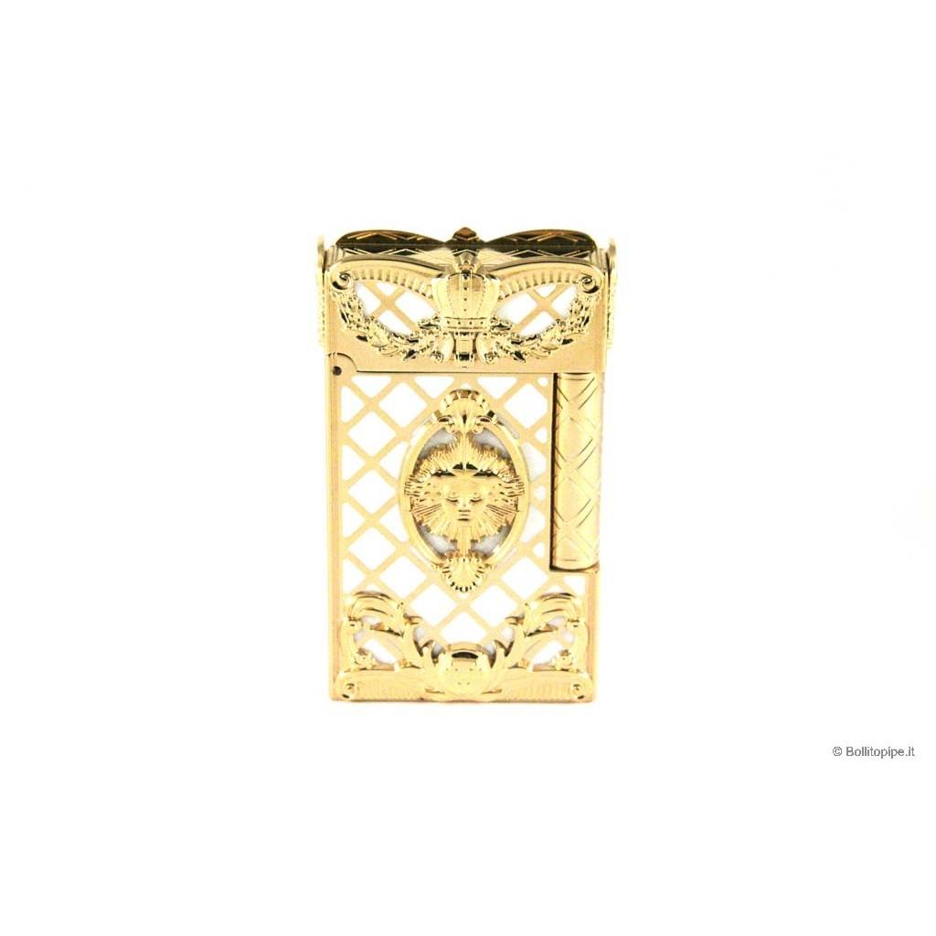 Mechero S.T. Dupont Linea 2 Laca de china y oro - Versailles Edición Limitada 2006