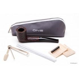 Savinelli One 404 Rustiquée - filtre 6mm