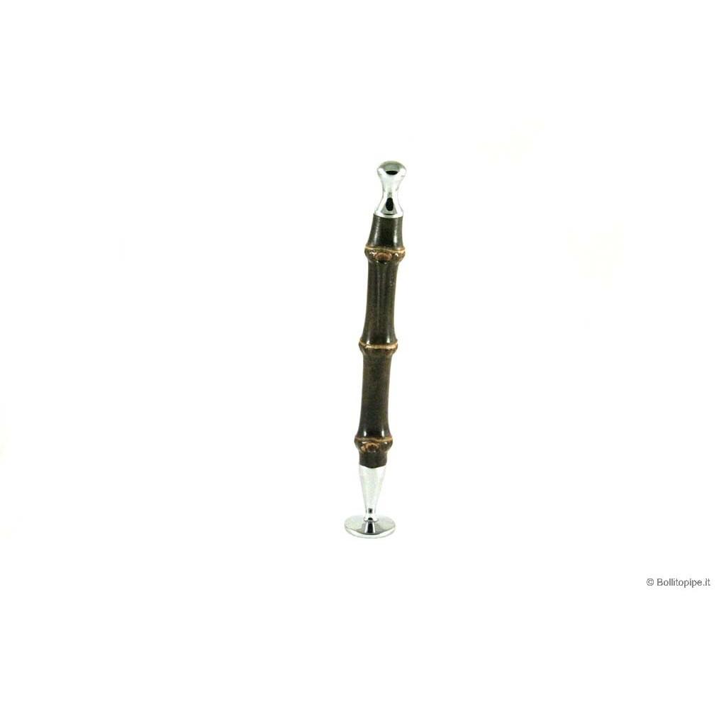 Aprieta tabaco Savinelli Bamboo Negro