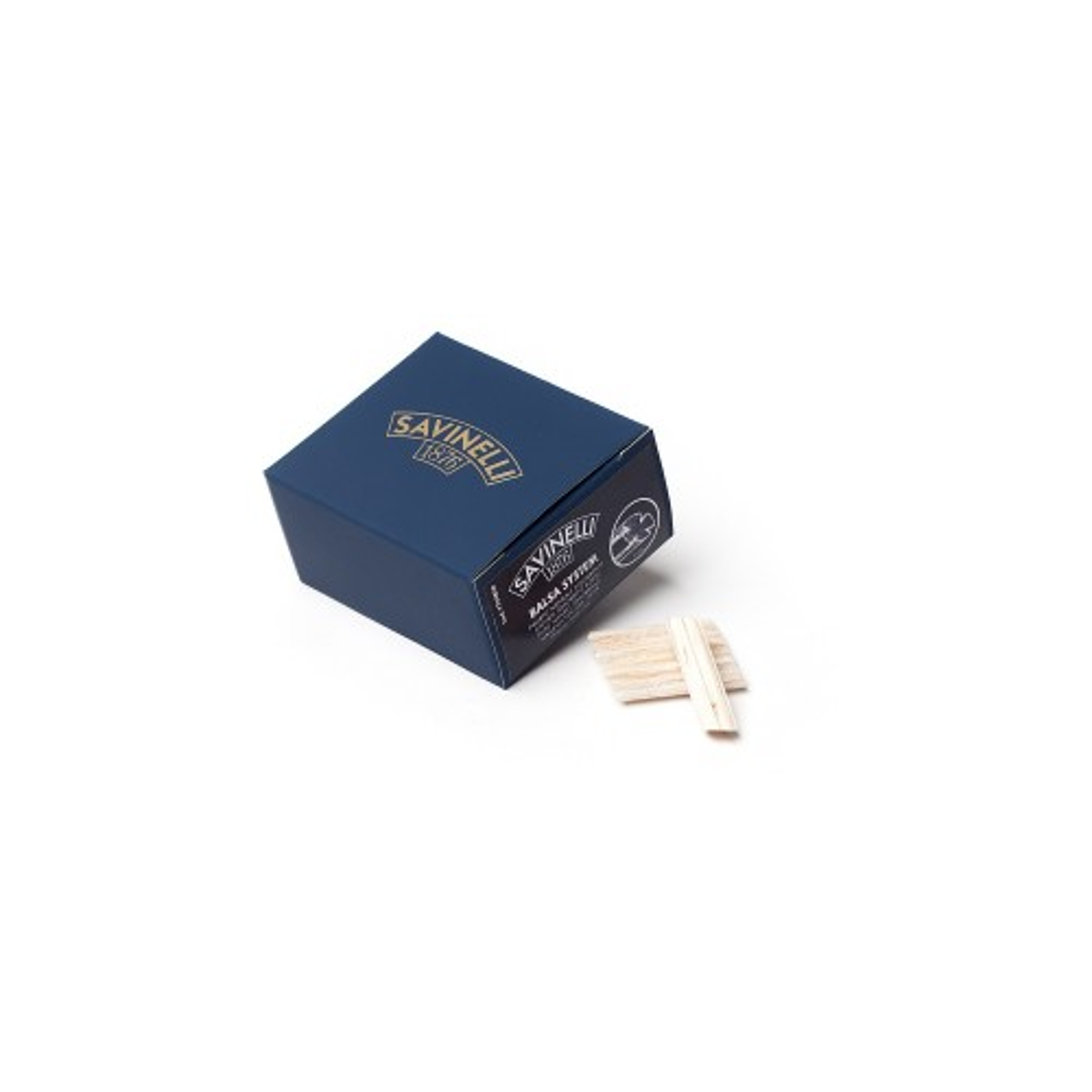 Savinelli 9mm balsa filter - 50 pc