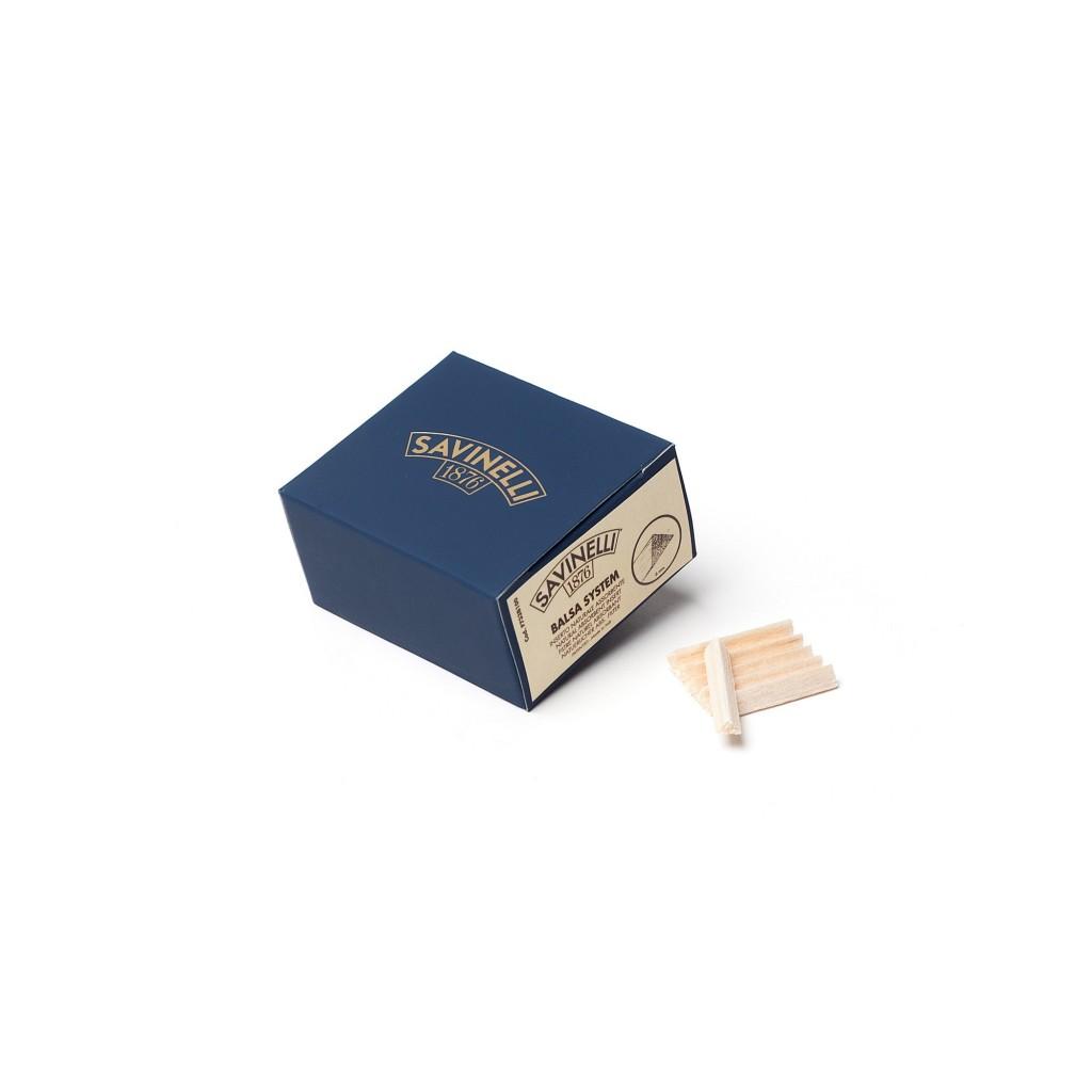 Savinelli 6mm balsa filter - 100 pc