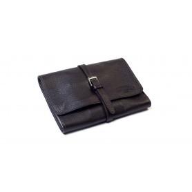 Bolsa en piel para 4 pipas y accessorios - Marròn