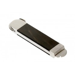 Table cigar cutter stainless steel and wood