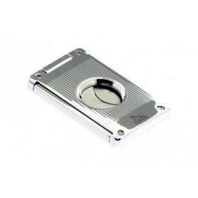 Cortacigarros 2 cuchillas de acero - lineas veticales