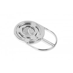 3 blades cigar cutter chrome plated