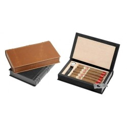 "Travel humidor ""Book"" with magnetic lid"