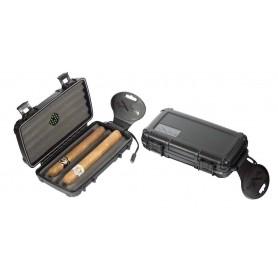 Humidor da viaggio - Cigar Caddy da barca per 5 sigari