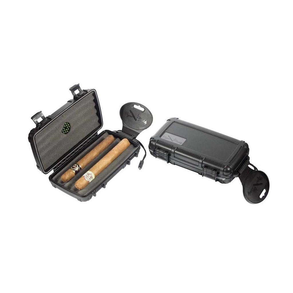 Cigar Caddy travel humidor for 5 cigars
