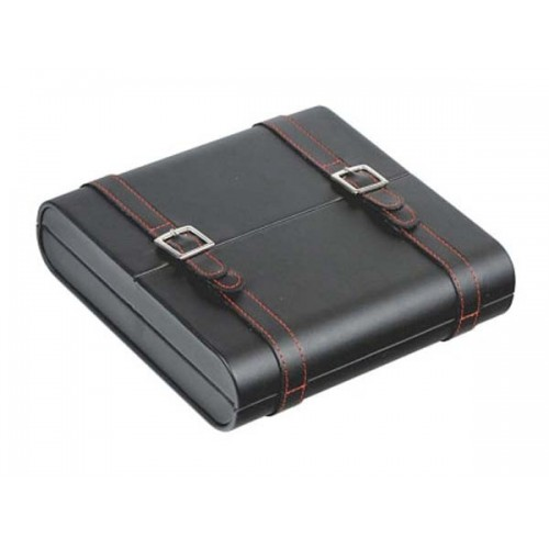 B&R Travel humidor double in faux leather