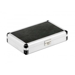 Aluminium travel humidor