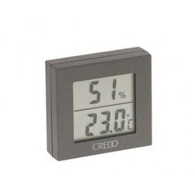 Termo-Igrometro digitale grigio Credo