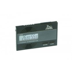 Digital thermo-hygrometer flat