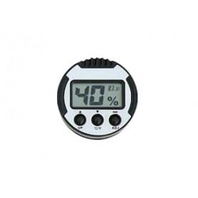 Digital thermo-hygrometer round