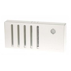 Humidification unit with fan controlled