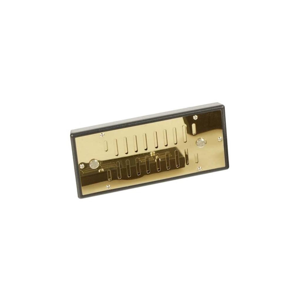 Humidificador DeLuxe de oro de aluminio