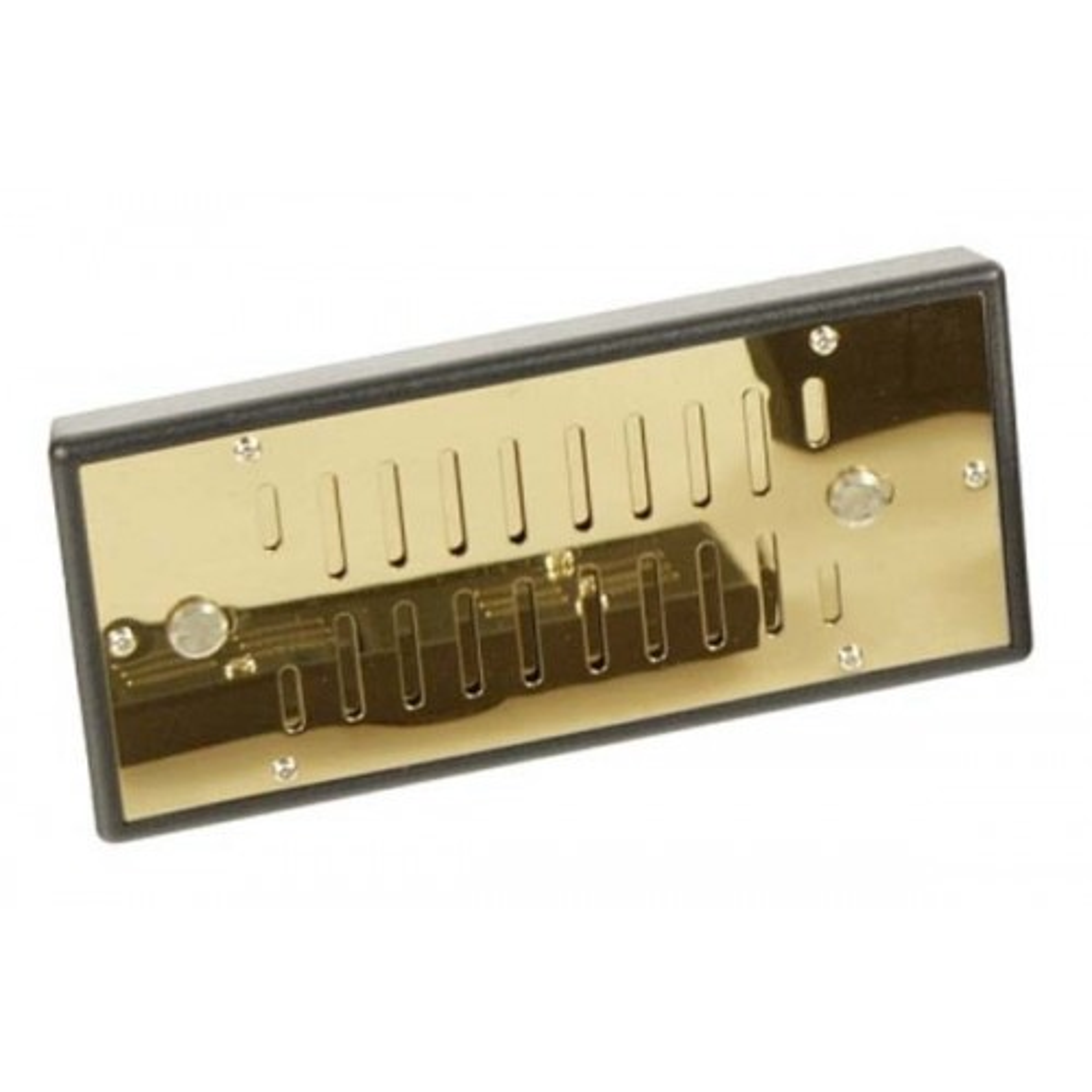 Humidificateur DeLuxe aluminium d'or
