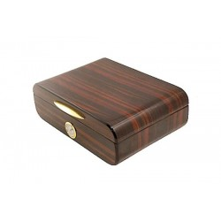 Humidor Navy in ebony polished