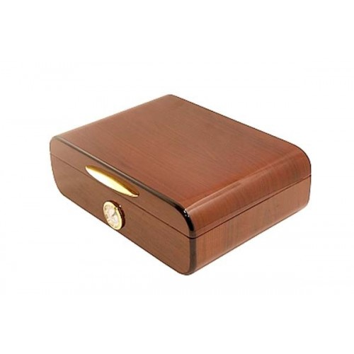 Humidor Navy in rosewood polished