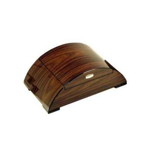 """Sunset"" Humidor in walnut polished with digital higro"