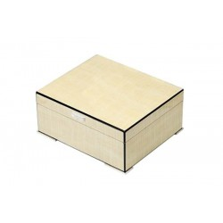 Humidor ahorn maple polished with digital higro