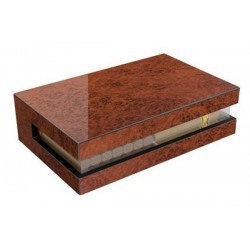 See-through humidor vavona pol.& acrilic with digital higro