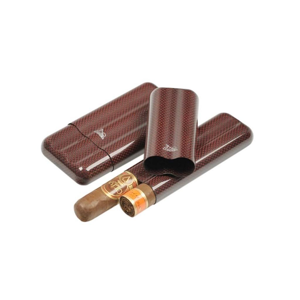 Kevlar cigar case for 2-3 cigars ring 60