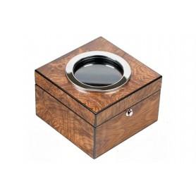 Cubo tobacco jar - Elm briar