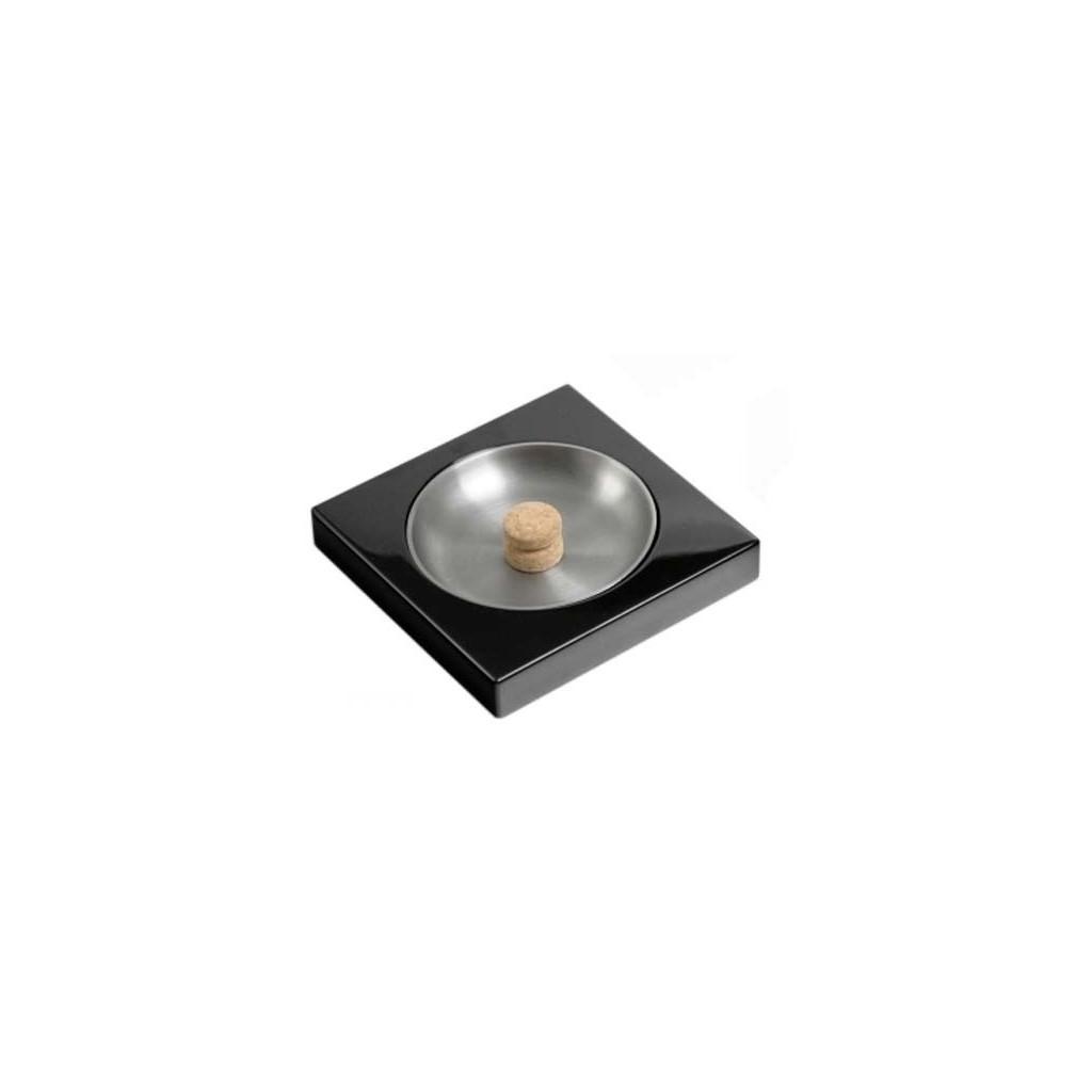 Black laque ashtray
