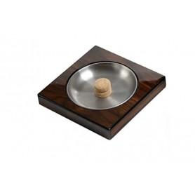 Walnut pipe-ashtray