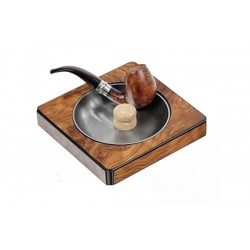 Elm briar pipe-ashtray
