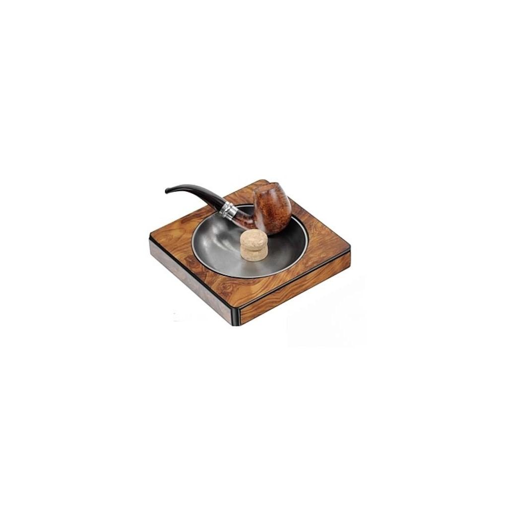 Elm briar pipe-ashtray