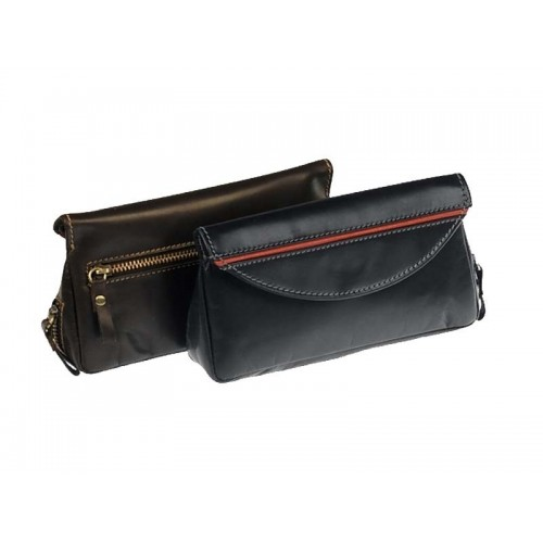 Colombian Buffalo leather pouch for pipe, tobacco and accessories with magnet