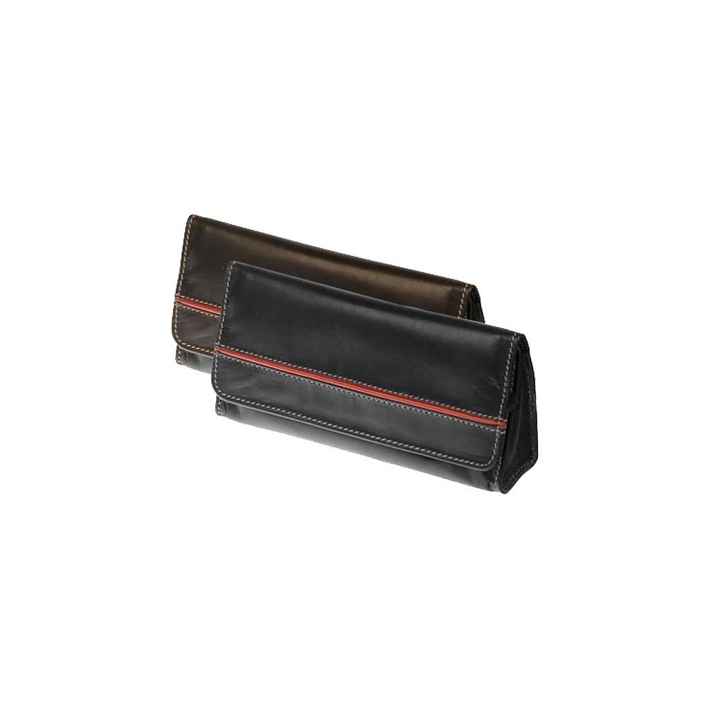 Borsa in pelle di bufalo colombiano per 1 o 2 pipe, doppia miscela e accessori