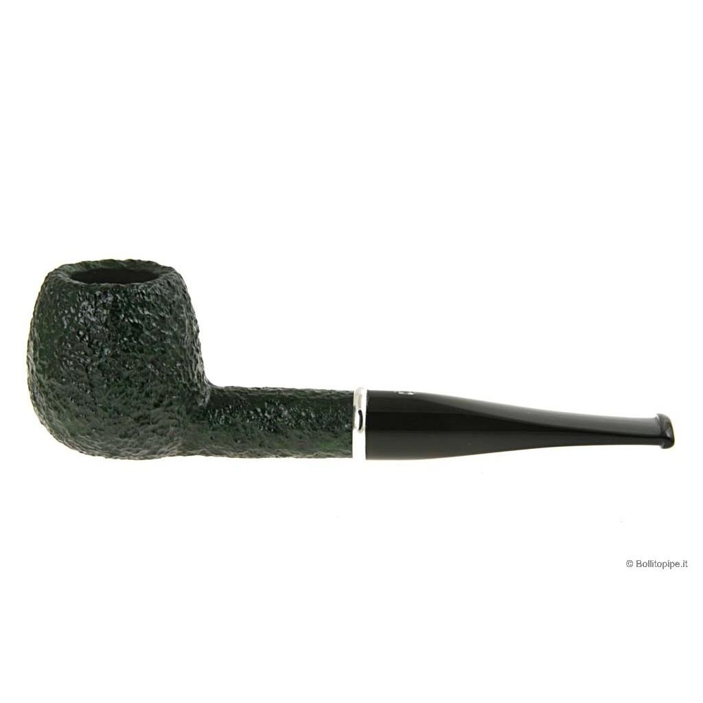 Savinelli Arcobaleno 207 rustiquée vert - filtre 9mm
