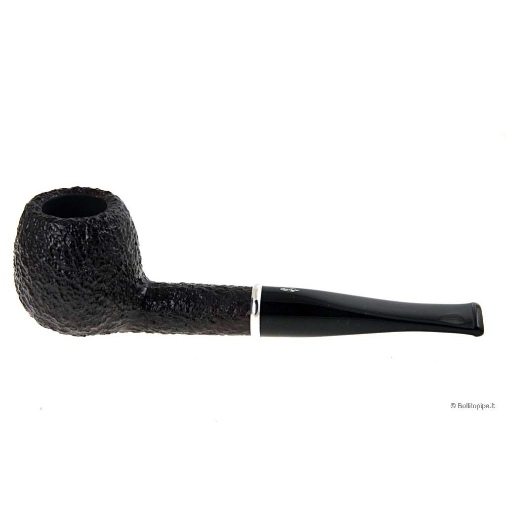 Pipa Savinelli Arcobaleno 207 rusticata marrone - filtro 9mm