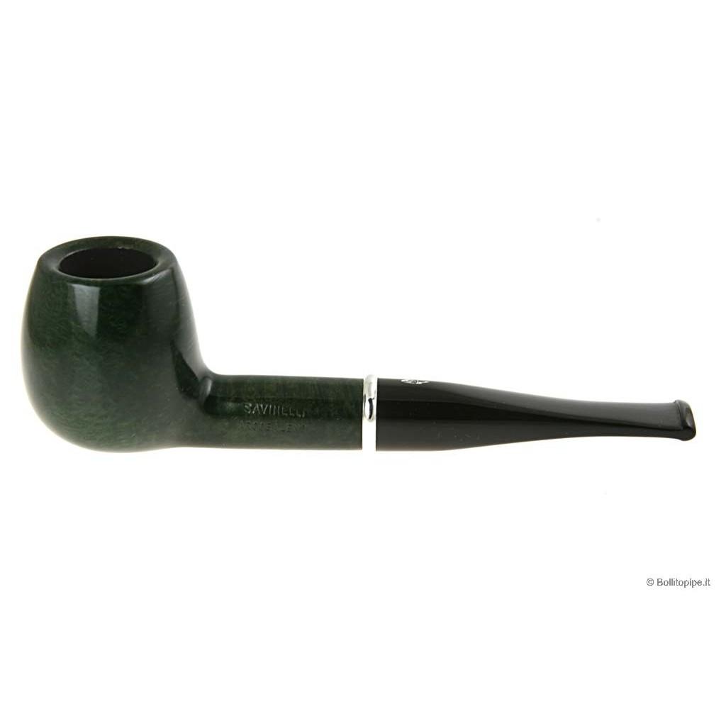 Pipa Savinelli Arcobaleno 207 verde - filtro 9mm