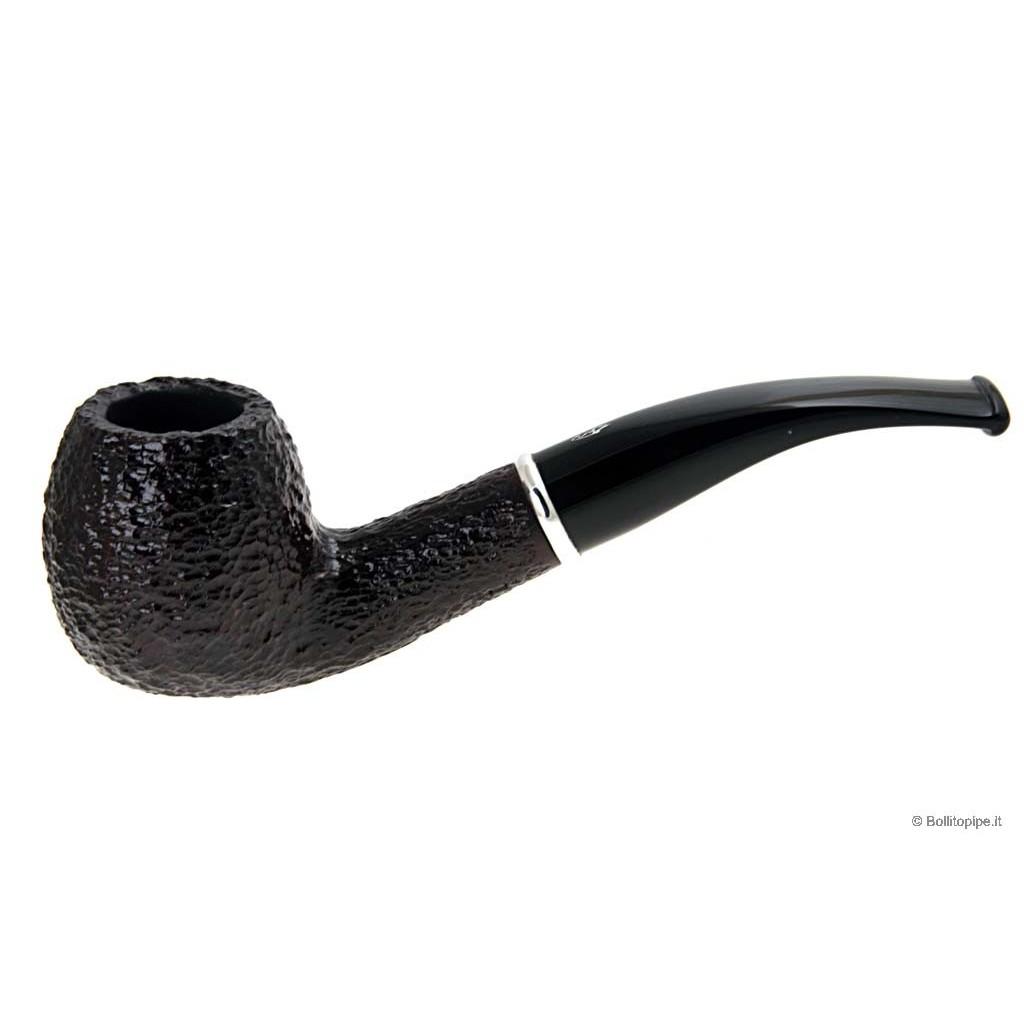Pipa Savinelli Arcobaleno 626 rusticata marrone - filtro 9mm