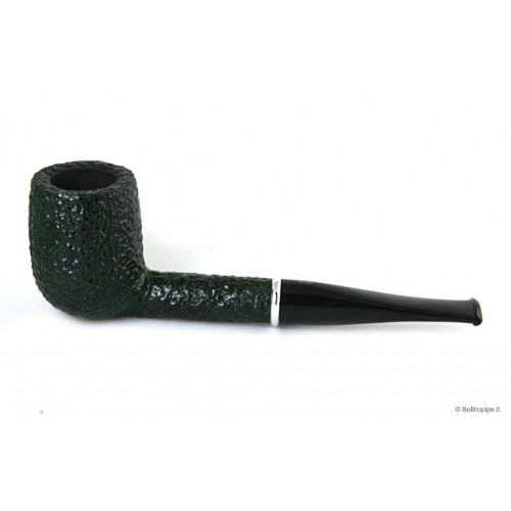 Pipa Savinelli Arcobaleno 111 Ks rusticata verde - filtro 9mm